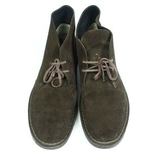 Desert Ankle Brown Suede Lace-up Chukka Boot